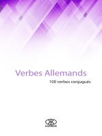 Verbes allemands (100 verbes conjugués)