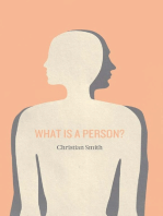 What Is a Person?