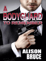 A Bodyguard to Remember (Book 1 Men in Uniform Series)