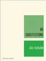 No Substitutions