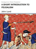A Short Introduction to Feudalism