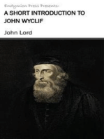 A Short Introduction to John Wyclif