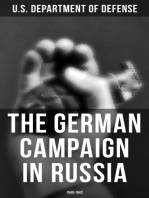 The German Campaign in Russia