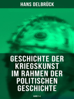 Geschichte der Kriegskunst im Rahmen der politischen Geschichte (Band 1-4)
