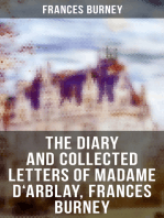 The Diary and Collected Letters of Madame D'Arblay, Frances Burney