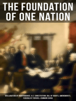The Foundation of one Nation