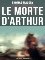 Le Morte d'Arthur (Complete 21 Book Edition)