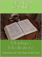 Marilyn's Meditations