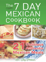 7 Day Mexican Cookbook