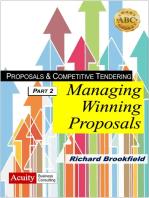 Proposals & Competitive Tendering: Part 2: Proposal Management