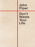 Don't Waste Your Life (Redesign)