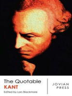 The Quotable Kant