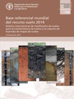Base referencial mundial del recurso suelo 2014: Sistema internacional de clasificación de suelos para la nomenclatura de suelos y la creación de leyendas de mapas de suelos. Actualización 2015. Informes sobre recursos mundiales de suelos 106