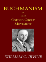 Buchmanism or the Oxford Group Movement