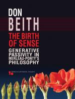 The Birth of Sense