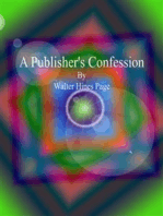 A Publisher's Confession