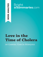 Love in the Time of Cholera by Gabriel García Márquez (Book Analysis): Detailed Summary, Analysis and Reading Guide