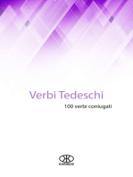 Verbi tedeschi (100 verbi coniugati)