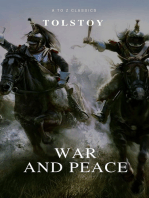 War and Peace (Complete Version, Active TOC) (A to Z Classics)