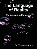 The Language of Reality