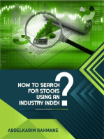 How to Search for Stocks Using an Industry Index?