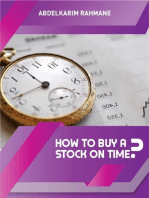 How to Buy a Stock On Time?