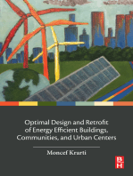 Optimal Design and Retrofit of Energy Efficient Buildings, Communities, and Urban Centers