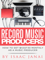 How to Get $4,027.50 Monthly as a Music Producer