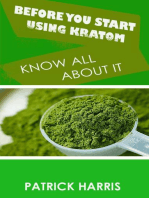 Before You Start Using Kratom - Know All About It