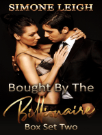 The Master Series. Box Set 2. Books 7-10 (Bought by the Billionaire Box Set, #2)
