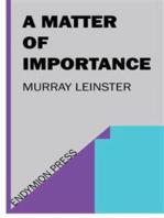 A Matter of Importance