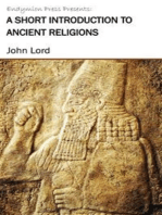 A Short Introduction to Ancient Religions