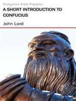 A Short Introduction to Confucius