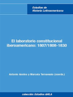 El laboratorio constitucional iberoamericano: 1807/1808-1830