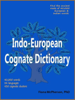 Indo-European Cognate Dictionary by Fiona McPherson - Book