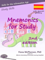 Mnemonics for Study: Spanish edition: Study Skills