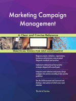 Marketing Campaign Management A Clear and Concise Reference