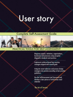 User story Complete Self-Assessment Guide