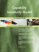 Capability Immaturity Model A Complete Guide