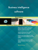 Business intelligence software Third Edition