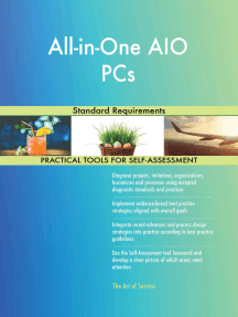 All-in-One AIO PCs Standard Requirements