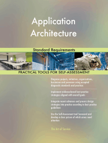 Application Architecture Standard Requirements