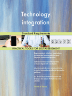 Technology integration Standard Requirements