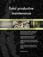Total productive maintenance Complete Self-Assessment Guide