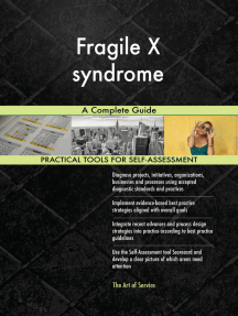 Fragile X syndrome A Complete Guide