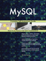 MySQL Complete Self-Assessment Guide
