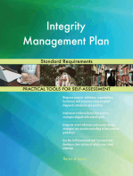 Integrity Management Plan Standard Requirements