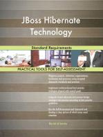 JBoss Hibernate Technology Standard Requirements