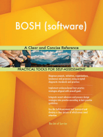 BOSH (software) A Clear and Concise Reference