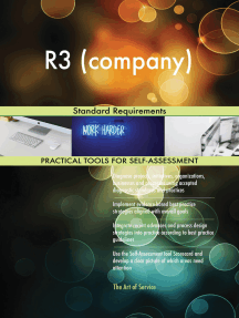 R3 (company) Standard Requirements